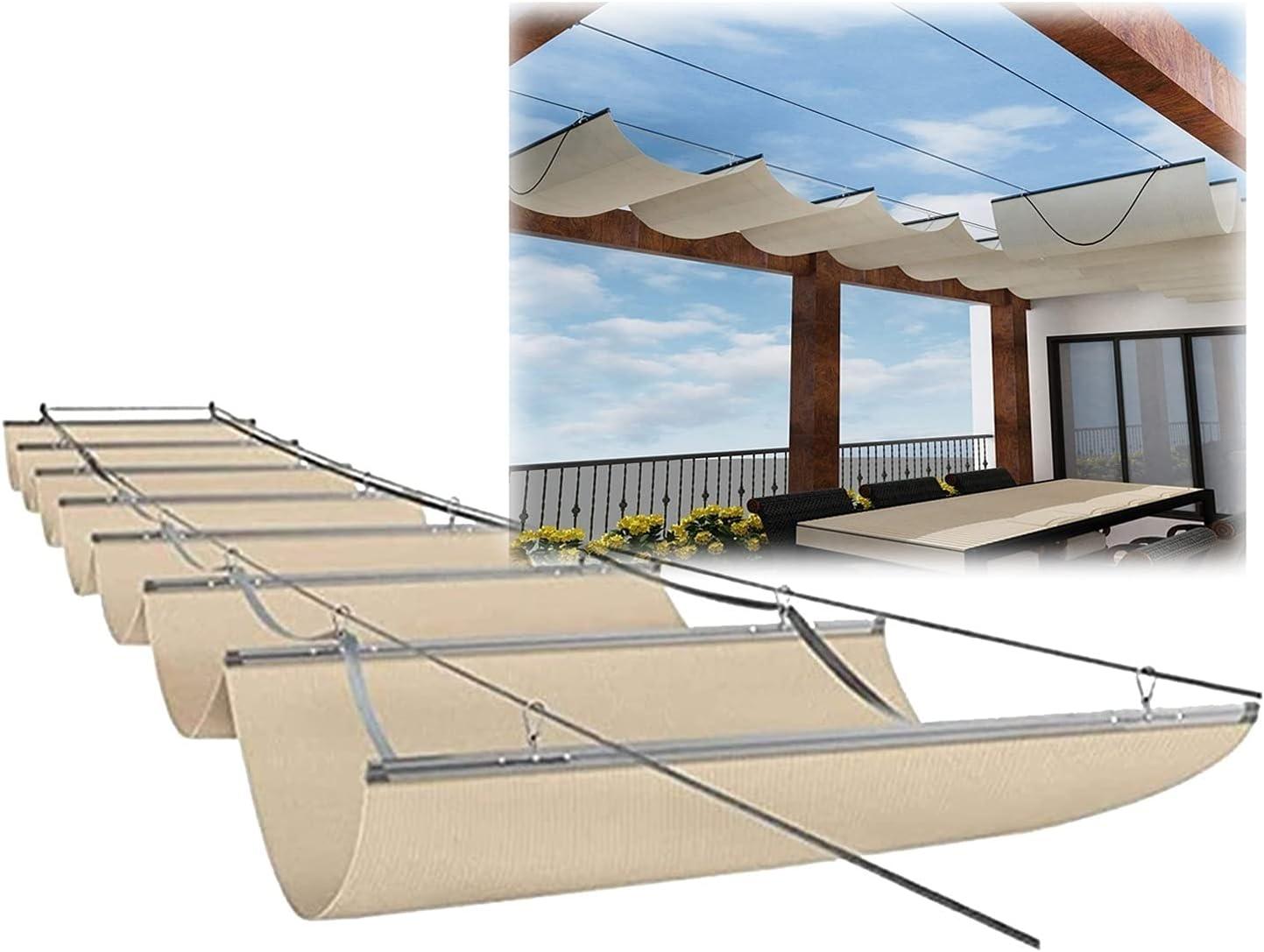 JIANFEI Max 62% OFF Pergola Shade Cover Deck Anti-UV Shadin Sale price Outdoor Hanging