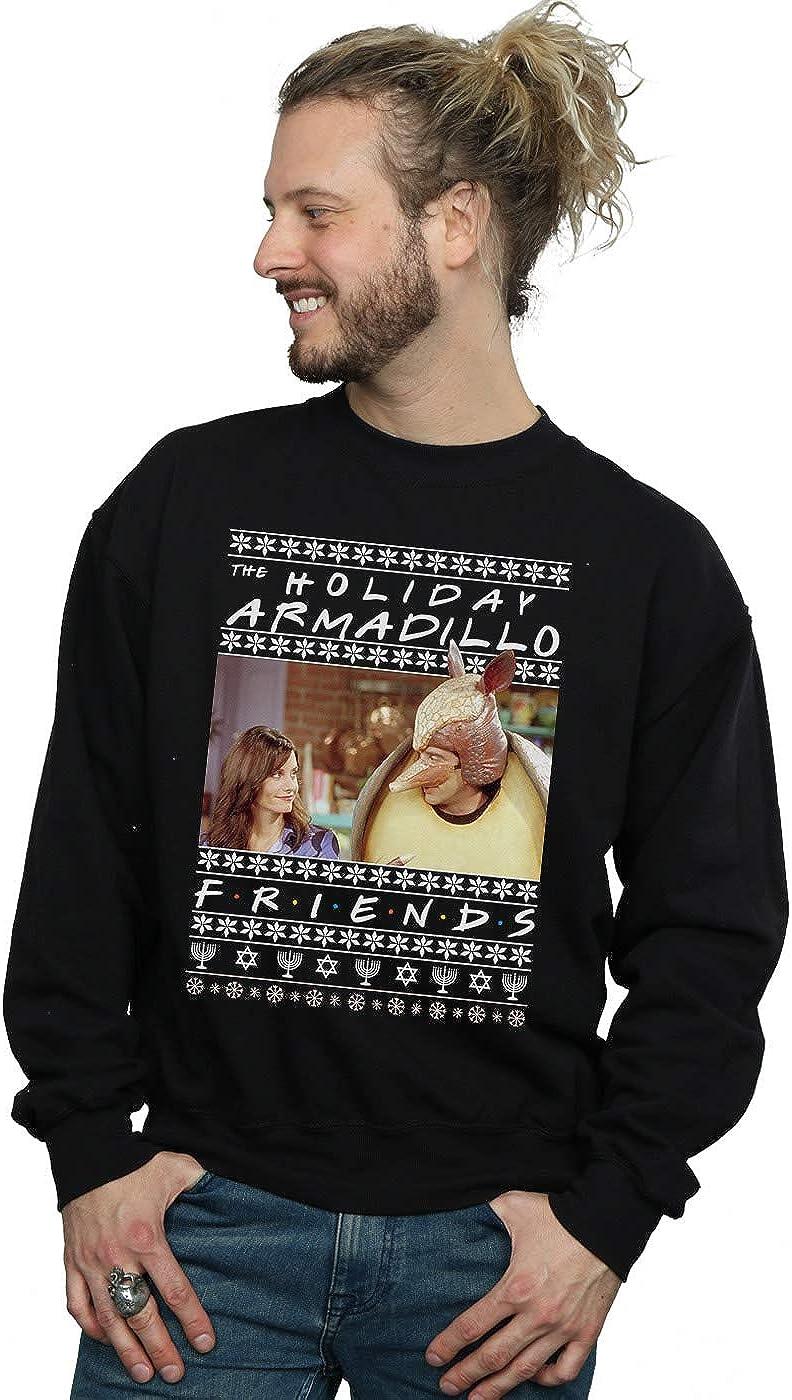 Friends Men's Fair Isle Holiday Armadillo Sweatshirt
