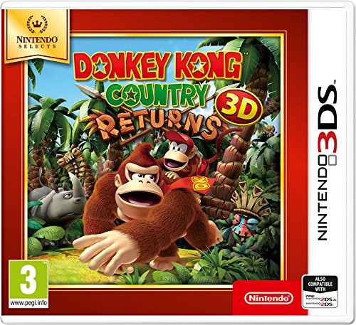 Nintendo Selects - Donkey Kong Country Returns 3D - Nintendo 3DS [Importación inglesa]