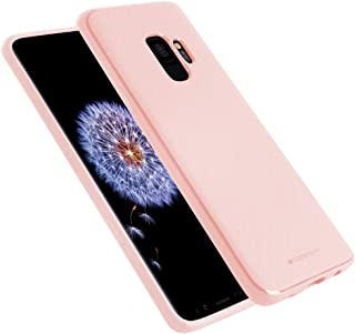 Goospery Style Lux Jelly for Samsung Galaxy S9 Case (2018) Thin Slim Bumper Cover (Baby Pink) S9-STYL-PNK