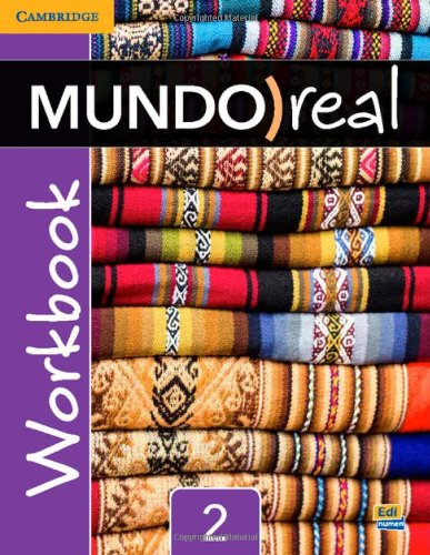 Mundo Real Level 2 Workbook (Spanish Edition)