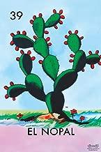 39 El Nopal Cactus Loteria Card Mexican Bingo Lottery Cool Wall Decor Art Print Poster 12x18