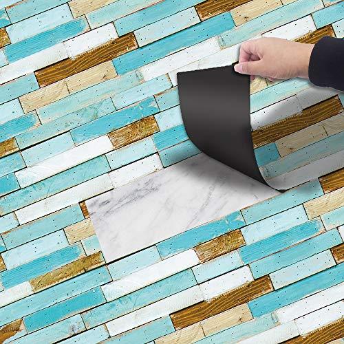PVC-Boden zusammengebauter Plastikboden-Papier-wasserdichter rutschfester Vinylboden-Aufkleber verschleißfest 20 * 300Cm
