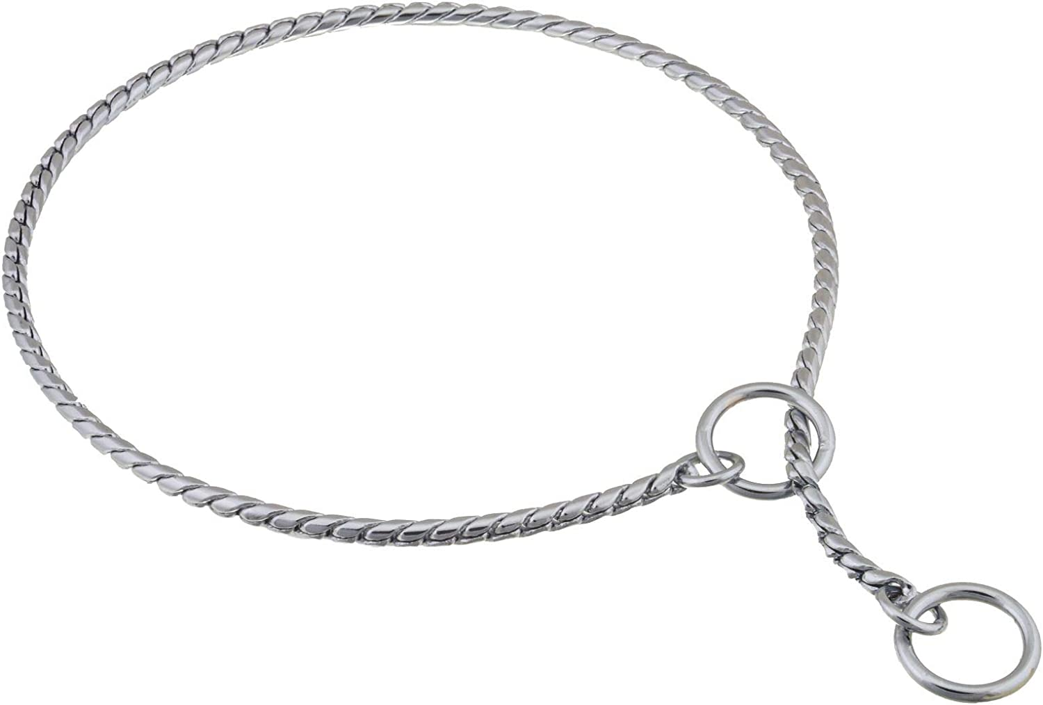 Alvalley Weekly update Metal Chain Dog Show Collar Shows Superior Slip - Pet for