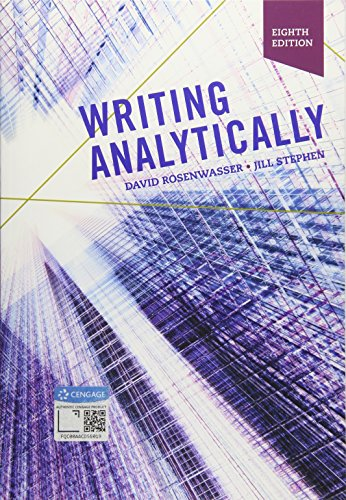 Download Writing Analytically 1337559466