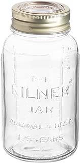 Kilner Anniversary Glass Jar, 51-Fluid Ounces
