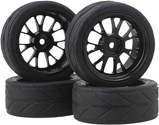 BQLZR Y shape Hub Wheel Rim&Tires HSP 1:10 On-Road RC Flat Racing