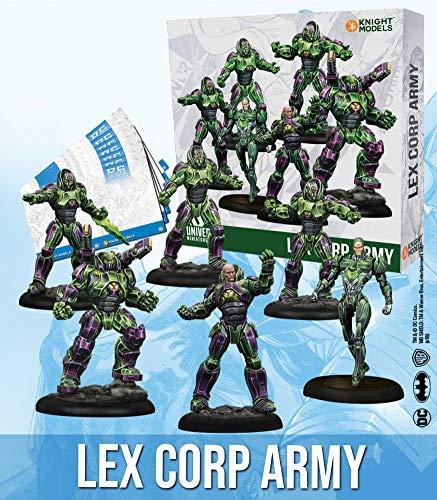 Knight Models Juego de Mesa - Miniaturas Resina DC Comics Superheroe - Lex Corp Army