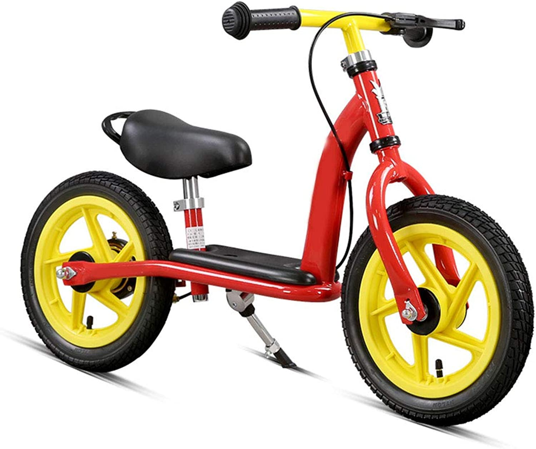 子供用自転車、バランス自転車、材質高炭素鋼、簡単取り付け、いいえ塗料の安全性と環境保護はありません、車両重量は4.9KG、長さは85cm