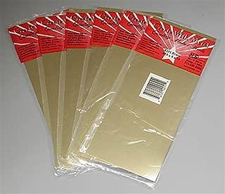 """K&S 251 Brass Sheet, 0.010"""" Thickness x 4"""" Width x 10"""" Length"""