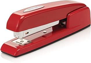 Swingline Stapler, 747 Iconic Desktop Stapler, 25 Sheet Capacity, Rio Red (74736)