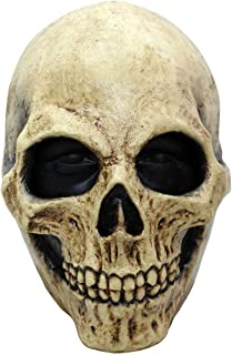 Bone Skull Mask Entire Head Realistic Look Adult Latex Masks