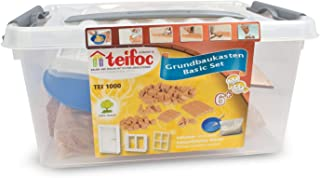 Teifoc 1000 - Basic starter set - Build with real Bricks & Cement