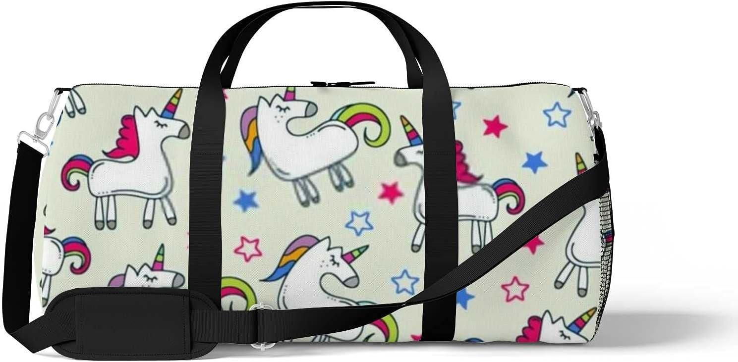 Unisex Gym Bag Duffel Unicorn Stars Sport and Team Issue High unisex quality new