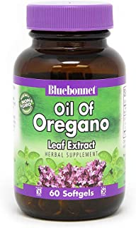 Bluebonnet Nutrition Oil of Oregano Leaf Extract, 60 Count