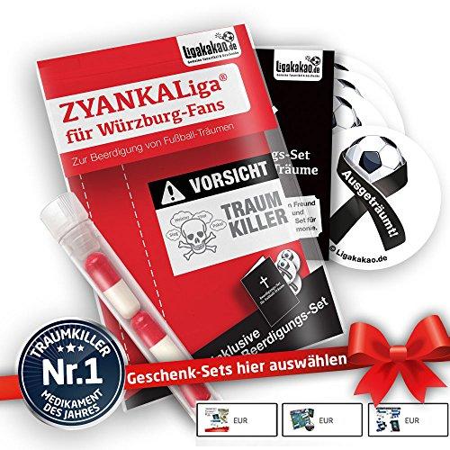 Würzburg Kickers Home Trikot ist jetzt ZYANKALIGA für Kickers Fans by Ligakakao.de Puma Herren Home Shirt Replica mit Logo rot-weiß