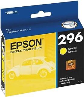 Cartucho de Tinta, Epson T296420-BR, Amarelo