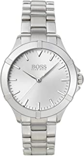 Hugo Boss Womens Quartz Watch, Analog Display and Stainless Steel Strap 1502466
