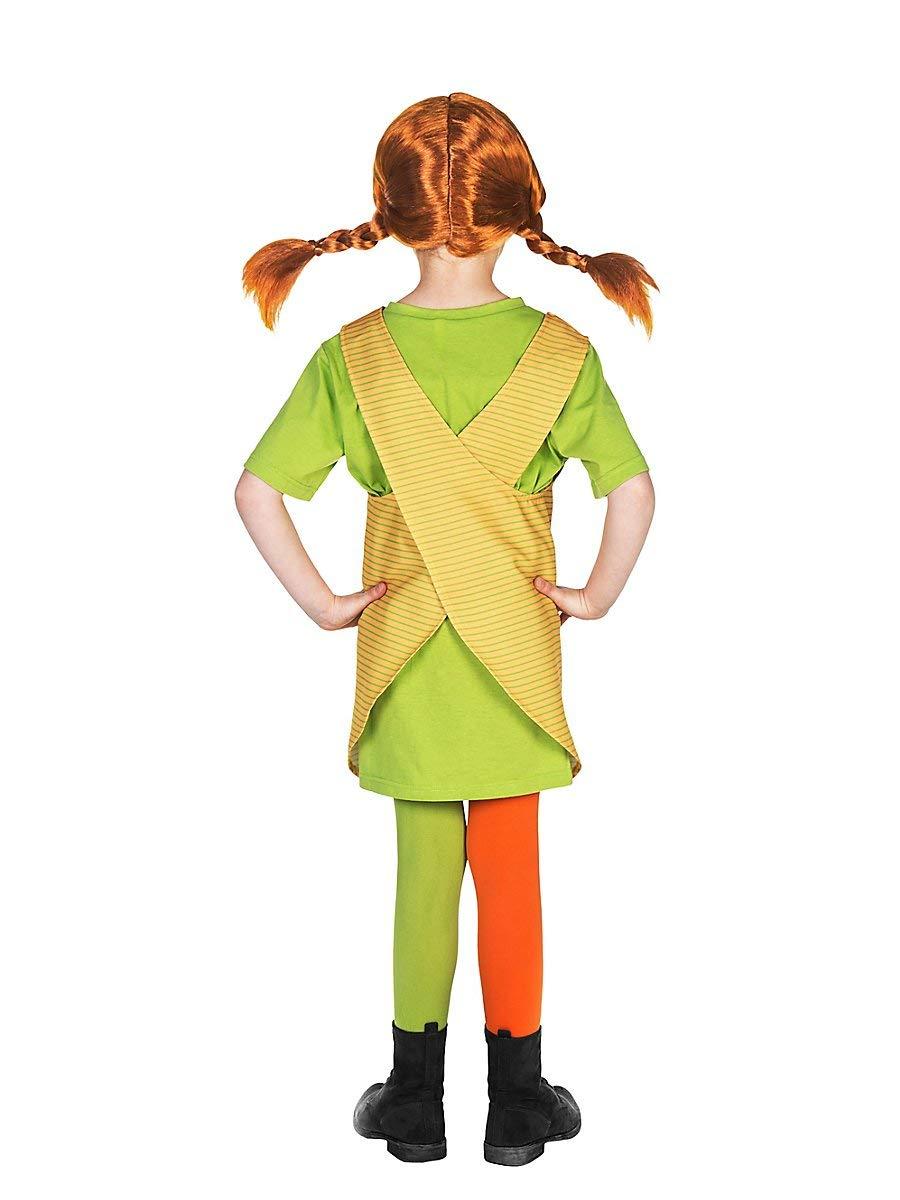Maskworld Pippi Longstocking Fancy Dress Childrens Costume (7-8 ...