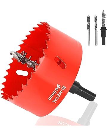 M42 HSS bimetal herramienta cortadora de brocas para madera de aluminio y hierro de tubo de pl/ástico Sierra perforadora de 15-200 mm