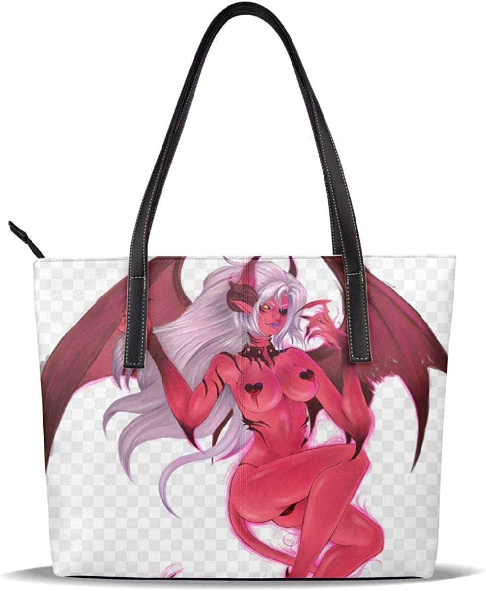 Sexy Succubus Figure Our shop OFFers the best service Art Comic Special price Printed Leather PU Patter Picture