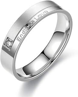 خاتم زفاف للرجال خواتم الخطوبة للنساء التيتانيوم الصلب خواتم للرجال عصابات زفاف لامعة عالية 8 مم الأرجواني