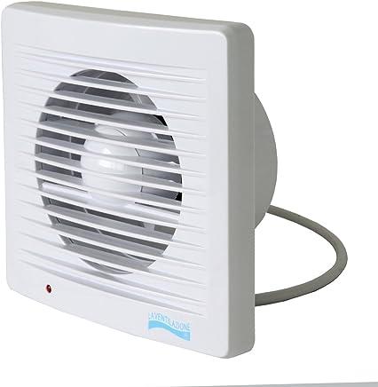 La ventilaci/ón aa10g aspirador espiral con persiana autom/ática para Orificio di/ámetro 100/mm//4/