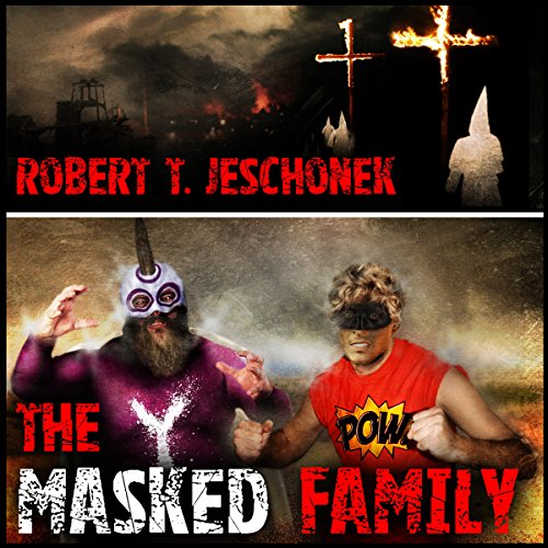 The Masked Family audiobook cover art