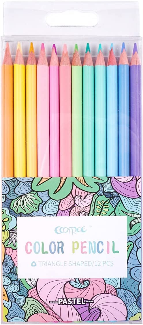 Macaron Colored Max 54% OFF Pencils soften wood Pastel adult coloring Max 49% OFF for