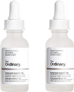 2 Packs of The Ordinary Hyaluronic Acid 2% + B5 30ml