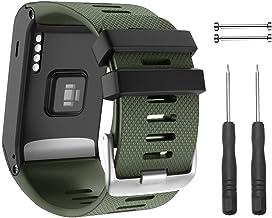 Ersatzarmbänder Armband für Garmin Vivoactive HR Fitness Uhr schwarz