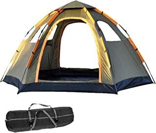 Pop Up Tent Family Camping Tent 4 5 6 Person Tent Portable Instant Tent Automatic Tent Windproof for Camping Hiking Mounta...