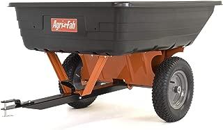 Agri-Fab 45-0533 10 Cu. Ft Poly Cart, Black/Orange