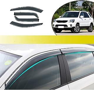 ALLYARD para Sportage 2010-2018 SPuerta Lateral ventilación Lateral Deflectores Ventana Visera Deflector Protector Visera