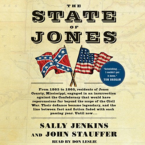 The State of Jones audiobook cover art