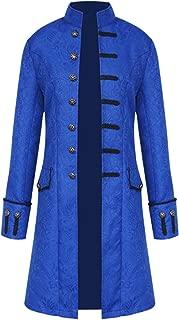 Men Vintage Tailcoat Jacket Steampunk Victorian Uniform Formal Tuxedo Frock Coat
