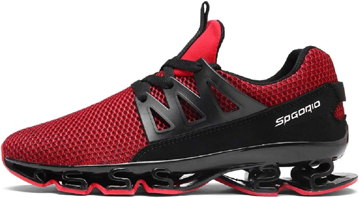 Ahico Mens Running shoes Womens Fashion Casual Sneakers Breathable Mesh Slip on Blade Athletic Tennis Sports shoes for Men
