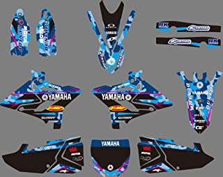 DST0630 Customized 3M Sticker Motorcross Graphic Motorcycle Decals Stickers Kit Graphics set for Yamaha YZ125/YZ250/X 2015 2016 2017 2018