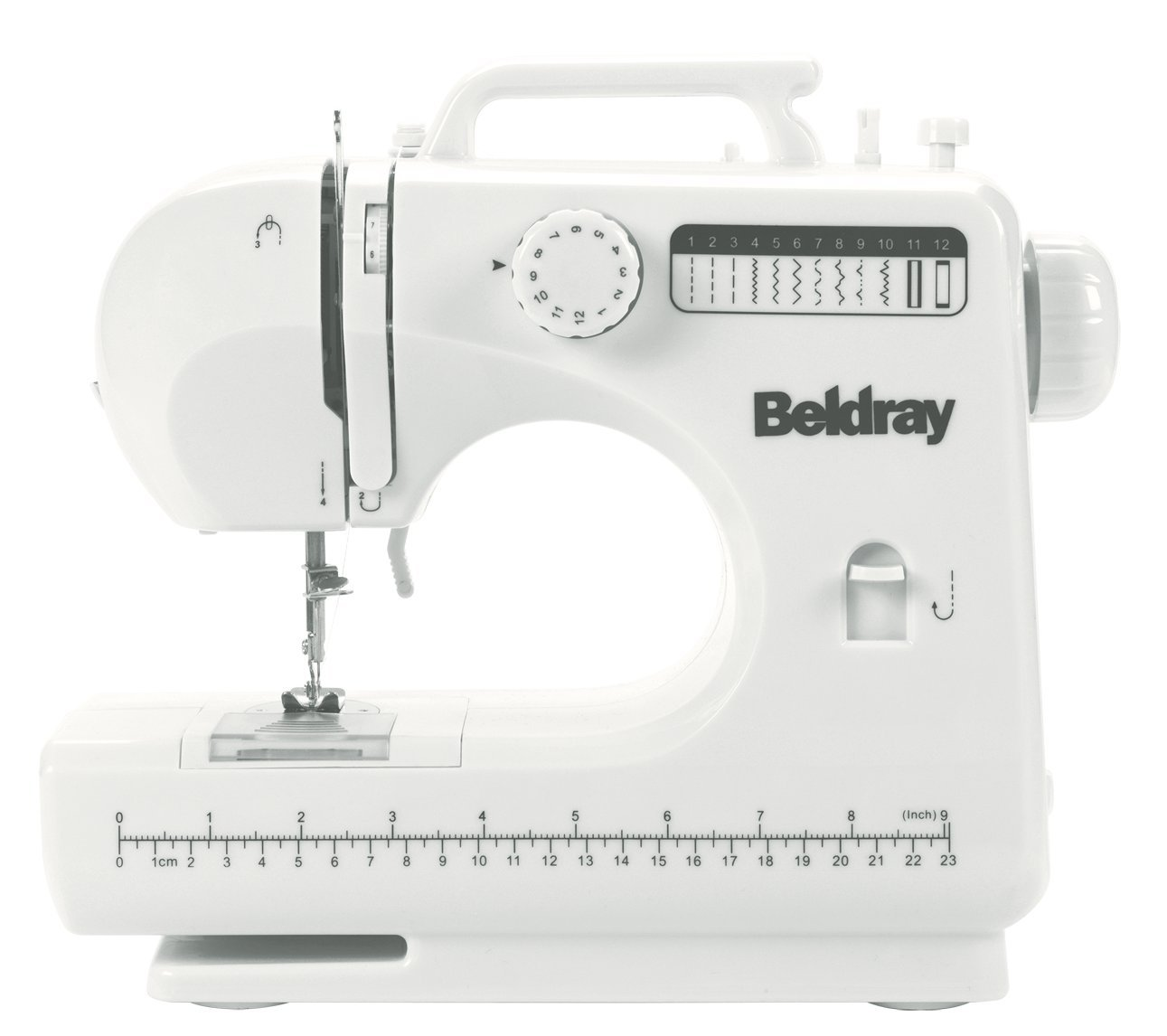 Beldray - Máquina de Coser con Accesorios (12 Puntadas), Color ...