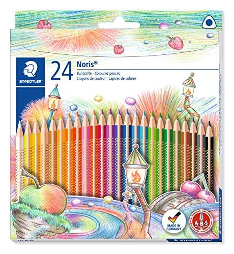 Staedtler 127 NC24 - Noris Club Buntstifte, mehrfarbig