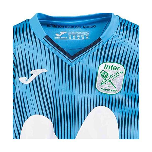 Joma Movistar Inter FS Primera Equipaci/ón 2020-2021 Turquesa Camiseta