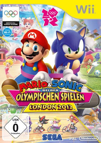 SEGA Mario & Sonic at the London 2012 Olympic Games - Juego (Nintendo Wii, Deportes, RP (Clasificación pendiente))