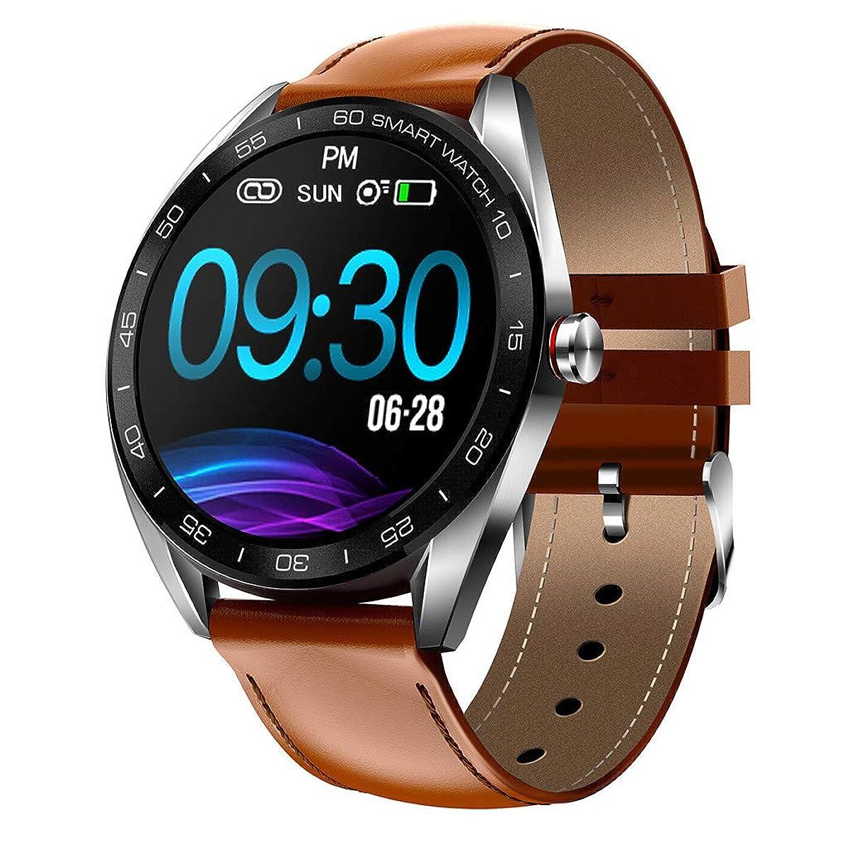Mollikar Smart Watch, K7 iOS Android Smartwatch Heart Rate Blood Pressure Sleep Monitoring Smart Watch Sports Bracelet Compatible Android Samsung iOS Phone XS X8 7 6 5 Men Women