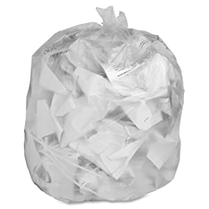 Genuine Joe GJO01011 Low-Density Trash Can Liner, 16 Gallon Capacity, 31