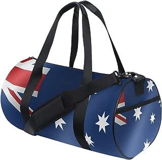 Duffel Bags Photo of Australia Flag Womens Gym Yoga Bag Small Fun Sports Bag for Men