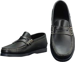 [パラブーツ] コインローファー メンズ靴 ネイビー 紺色 オイルドレザー CORAUXモデル coraux-093606 国内正規取扱