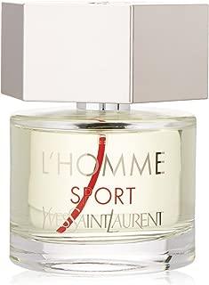 Yves Saint Laurent L'homme Sport Eau de Toilette Spray for Men, 2.0 Ounce