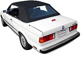 Sierra Auto Tops BMW 1987-1993 3 Series (E30) Convertible Top, TwillFast II Canvas, Black