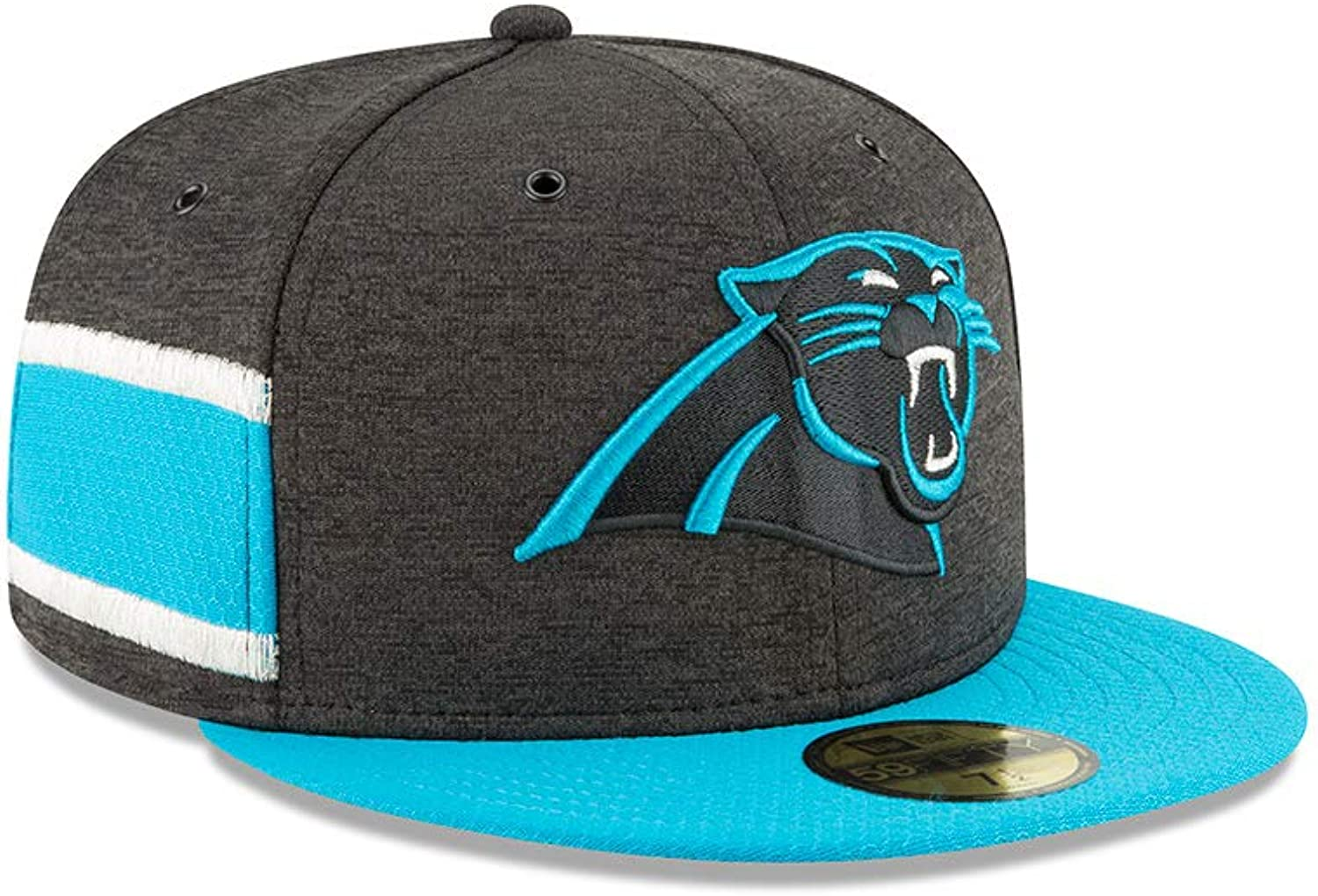 New Era NFL Carolina Panthers Authentic Authentic Authentic 2018 Sideline 59FIFTY Home Cap B07GFK6T1W  Sorgfältig ausgewählte Materialien a7fe4a