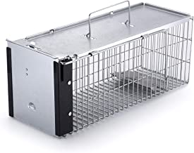 Faicuk Heavy Duty Squirrel Trap Chipmunk Trap and Other Similar-Size Rodents (Medium)